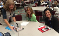 Round table discussion with AFLA's Janna Lelchuk (left) at ACTFL 2016