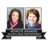 tove dahl and linda egnatz will be the keynote speakers at afla 2016