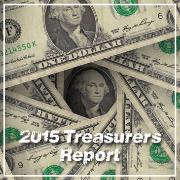 AFLA 2015 treasurer's report