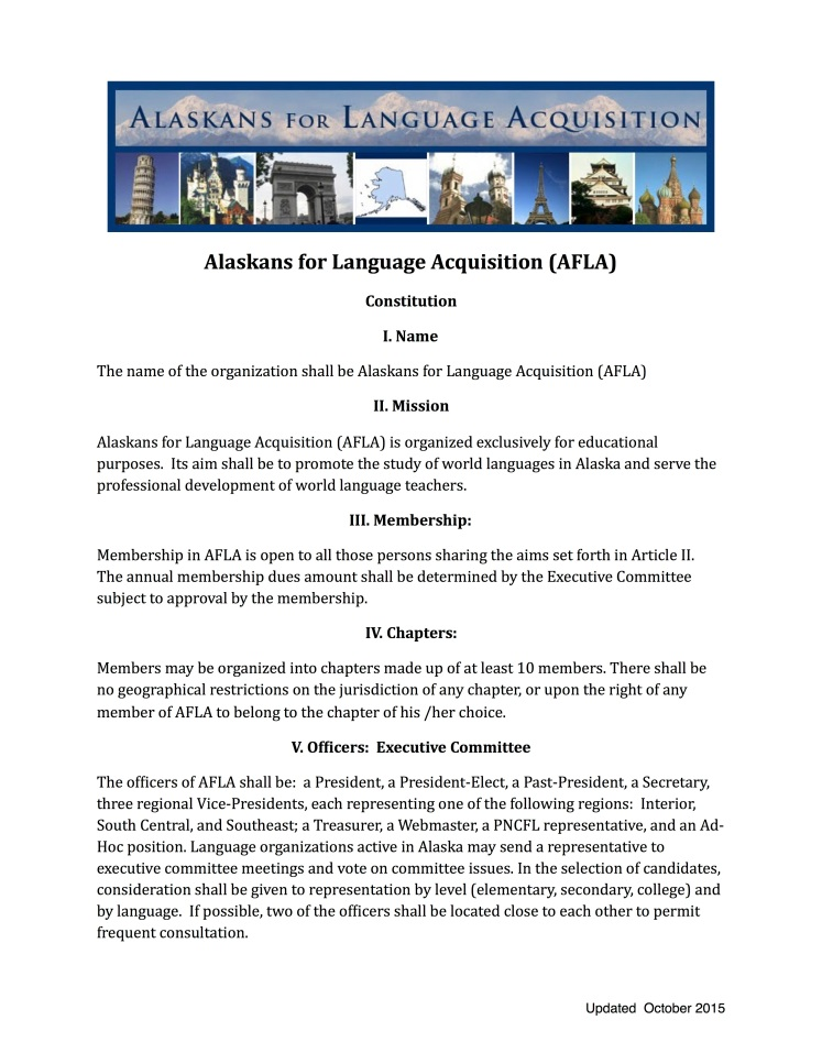 AFLA Constitution 2015-10